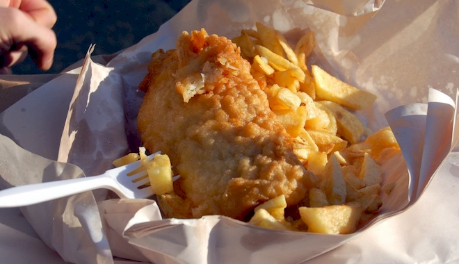 Half Price Fish and Chips Day
