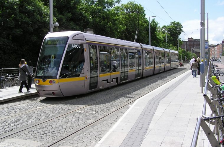 Luas Free Travel for under 5