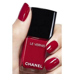 Chanel Red Nail polish